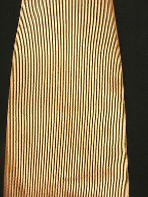 Affidabile Vintage 1950's -1960's Nobless Etichetta Luce Cravatta Marrone Conveniente Da Cucinare