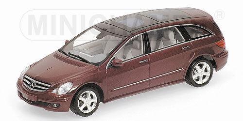 Mercedes Benz R Class 2006 rosso Metallic Metallic Metallic 400034600  Minichamps c00efa