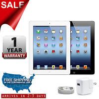 Apple iPad 2 16GB/32GB/64GB Black/White 9.7in Wi-Fi Tablet One-Year Warranty