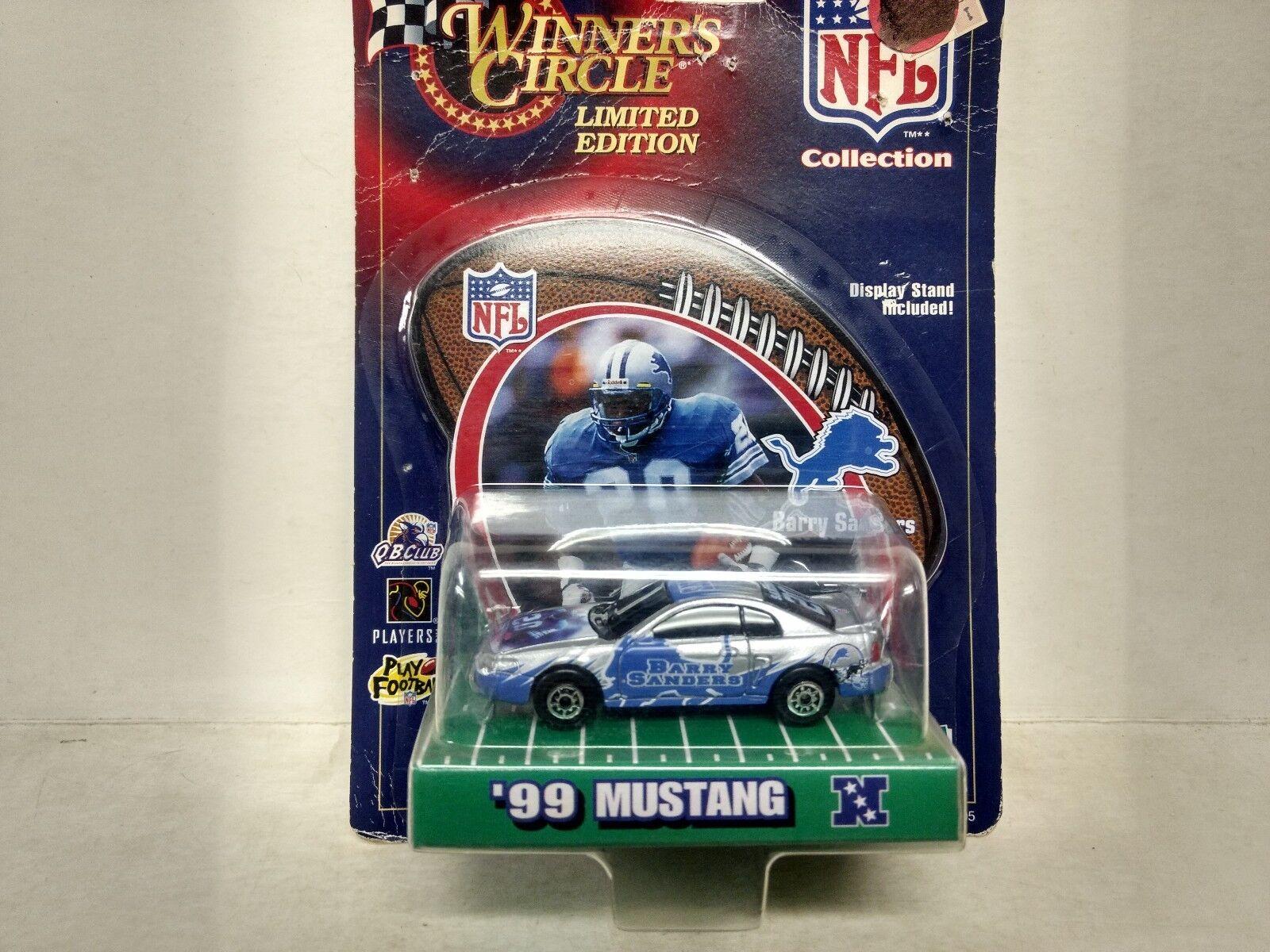 Nascar Gagnants Cercle Barry Sanders NFL Collection 1 64