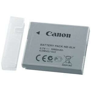Brand New Original OEM Canon Battery Pack NB6LH 37V 1060mAh 40