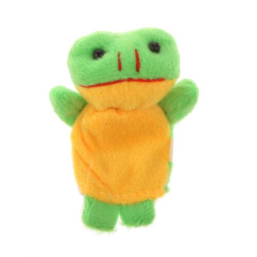 10ps Fingerpuppe Tuch Plüsch Puppe Baby Pädagogisches Hand Cartoon Tier