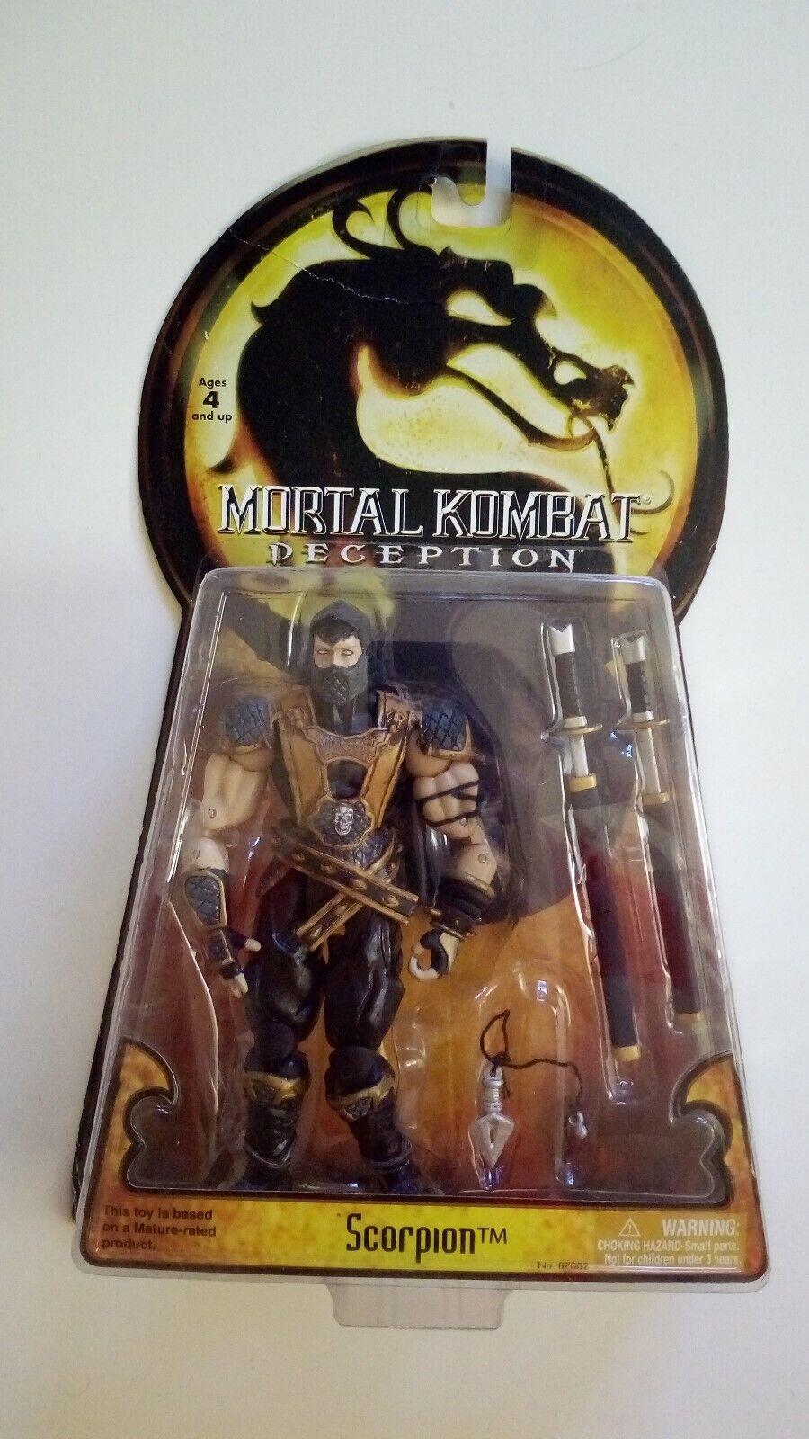 Seltene Mortal Kombat Scorpion Figur von Jazwares  Neu & Ovp
