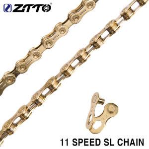 ZTTO half hollow Golden 11s SL Chain 11 Speed MTB Mountain Road Bike ... 4ee17c6cb931