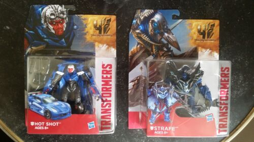 Transformers Generations Age Of Extinction Deluxe Class STRAFE and Hotshot