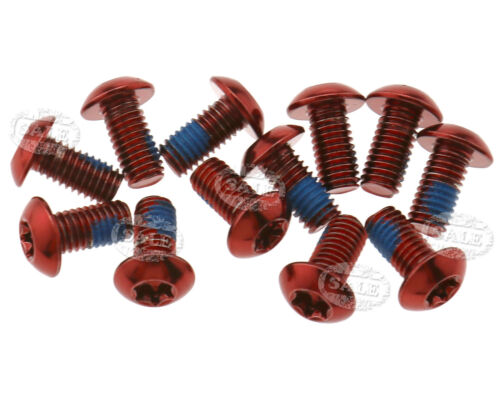 12Pcs Disc Brake Rotor Screw Bolts M5 x 10mm Size MTB Bike Cycle Parts Set