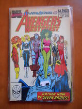 AVENGERS WEST COAST #4 1989 ANNUAL  Marvel Comics  [SA45]