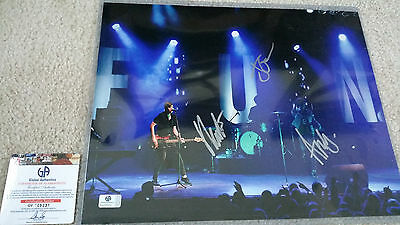 Frugal Fun Band Signed Autograph 11x14 Ga Nate Ruess To Ensure A Like-New Appearance Indefinably Rock & Pop