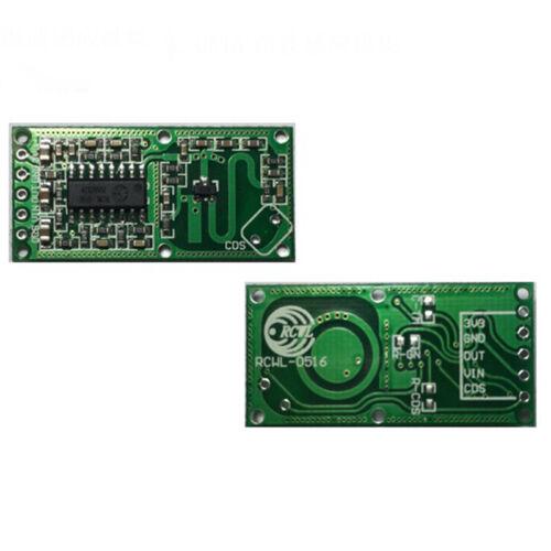 RCWL-0516 Microwave Radar Sensor Switch Module Human Body Intelligent Detector
