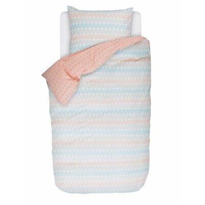 Bettwäsche Esprit Bettwäsche Tyra Rosa Blau Orange Streifen Linien Netz Wendeoptik Perkal Verpackung Der Nominierten Marke