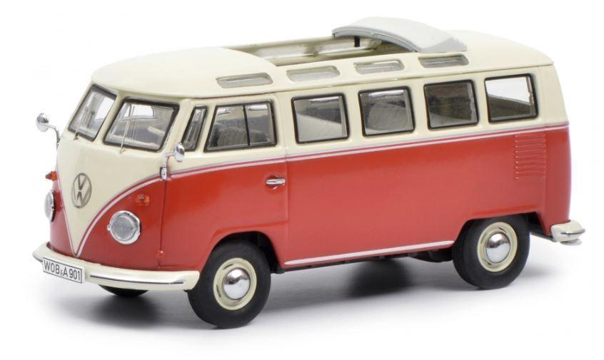 SCHUCO 450374300 VW VW VW T1b Samba, rojo y beige ab7a65