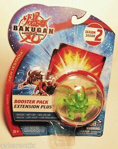 Bakugan-Percival-CLEAR-Green-Battle-Brawlers-Game-Ball-Figure-2009-RARE-New-USA