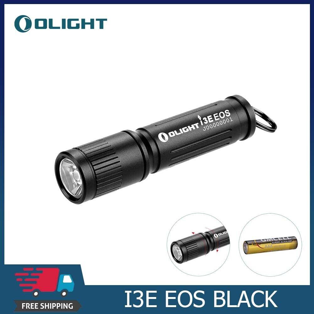 Olight I3E EOS EDC Key Ring LED Keychain Flashlight 90//120LM DHL Express Ship
