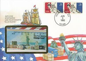 Numisbrief-Numiscover-New-York-Ellis-Island-1993-Change-Card-Philswiss