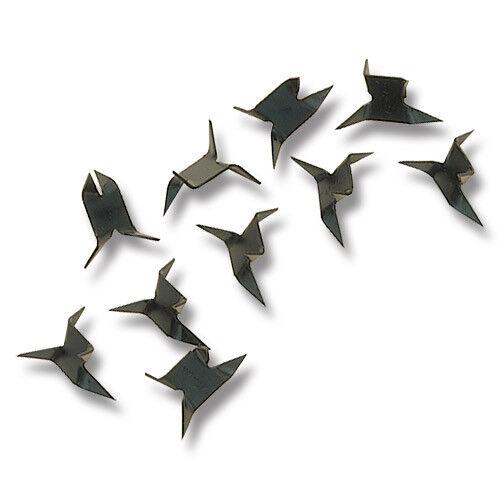 "Set of 10 Pieces Ninja Caltrops Tashibishi Spiked Car Stopper Black 2.5/"" Large"
