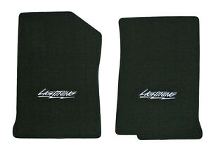 NEW! 2004-2008 Black Floor Mats Ford F-150 with Lightning ...