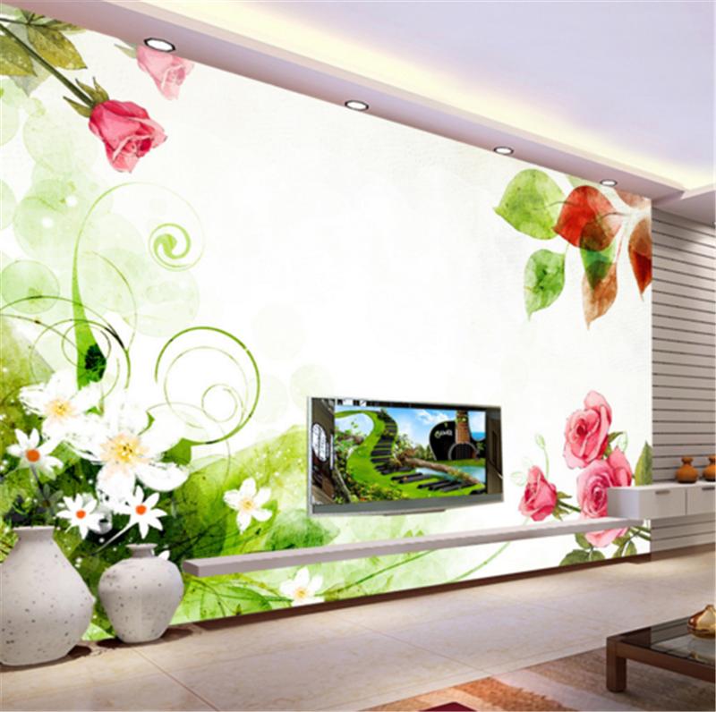 3D Leaf Flower Pattern 833 Wallpaper Mural Paper Wall Print Wallpaper Murals UK