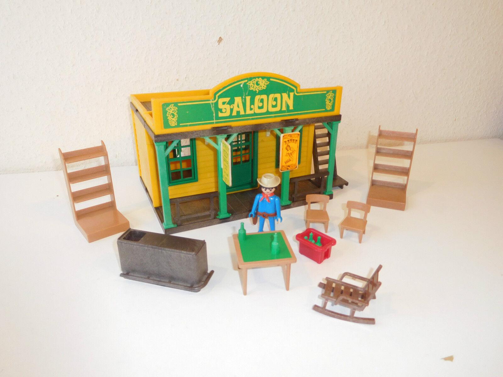 Western Playmobil saloon 3425 (3)