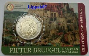 Belgie-speciale-2-euro-2019-Pieter-Bruegel-in-Coincard-Waals