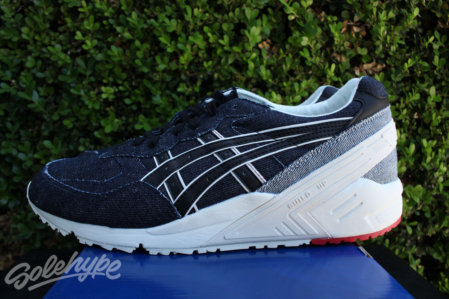 ASICS GEL SIGHT Denim OKAYAMA PACK Orillo marina de guerra japonesa H6L1N 5090