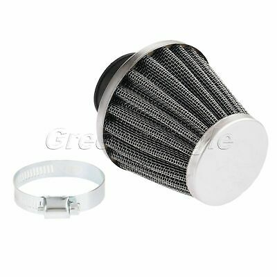 35mm Motorcycle Motorbike Conical Air Intake Metal Engine Inlet Filter Cleaner