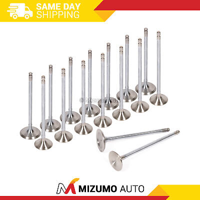 Intake Exhaust Valves for 91-96 Honda Accord Prelude 2.2L SOHC F22A1 F22A4 F22A6