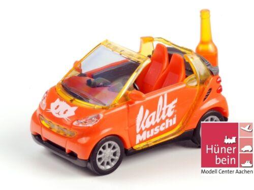 """Busch 99053 Smart Cabrio /""""Kalte Muschi/"""" Flasche orange limit 200 Stk.1:87 OVP"""