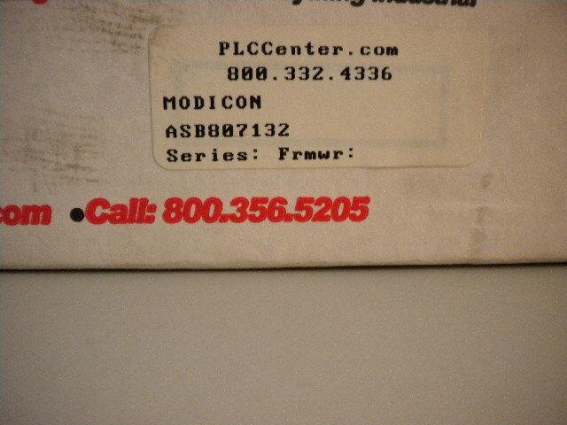 MODICON ASB807132 REMAN ASB807132