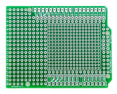 10x Prototype PCB for Arduino UNO R3 Shield Board DIY, Combo 2mm+2.54mm Pitch.