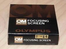 OLYMPUS OM FOCUSING SCREEN 1-14 NEW IN BOX