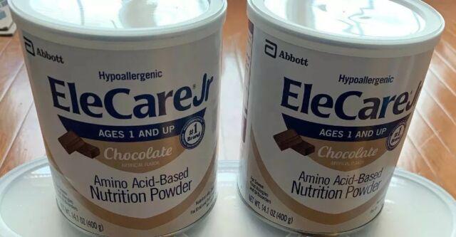 Cans EleCare Jr Chocolate Case Formula