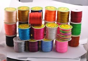 1Roll-Chinese-Knot-Nylon-Beading-Thread-String-Jewelry-Cords-2MM-18-Colour