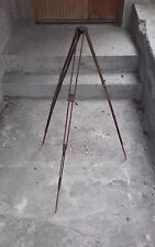 ICA DRESDEN Wooden Telescopic Tripod for vintage camera Germany