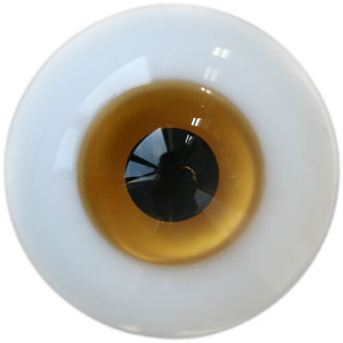 PF 10mm Goldenrod/&orange For BJD AOD DOD Doll Dollfie Glass Eye Equipment