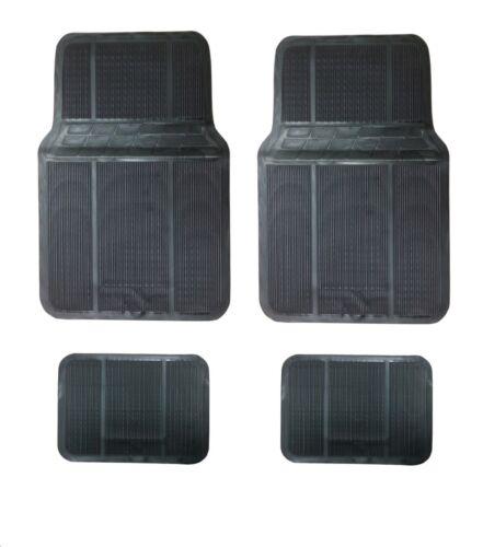 Automatten Schwarz Gummimatten Gummi-Fußmatten für PEUGEOT RENAULT CITROEN
