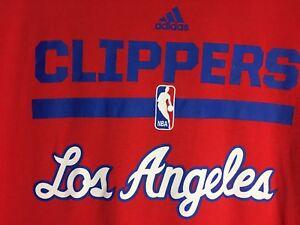 Tee To Shirt Grande Adidas Hombres Nba Rojo Angeles Go Clippers Los HwBHqXxYA