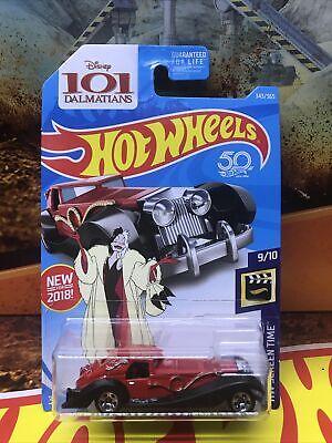 2018 Hot Wheels HW SCREEN TIME 9//10 Cruella De Vil  #343 New Near Mint