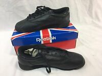Vintage Reebok Classic Freestyle Low Womens 7.5 Black Sneakers Shoes