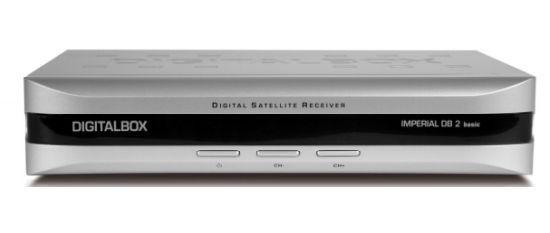 DigitalBOX Europe IMPERIAL DB 2 basic TV Satelliten Receiver Neu