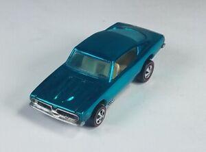 Restored-Hot-Wheels-Redline-1968-Custom-Barracuda-Aqua
