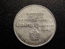 REDEEM AT ANY PARTICIPATING DAIRY QUEEN STORE WE TREAT YOU RIGHT TOKEN! MM109UCX