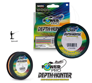 Shimanno Power Pro DEPTH- HUNTER multi-colour braid VARIETY SIZES    300 METERS