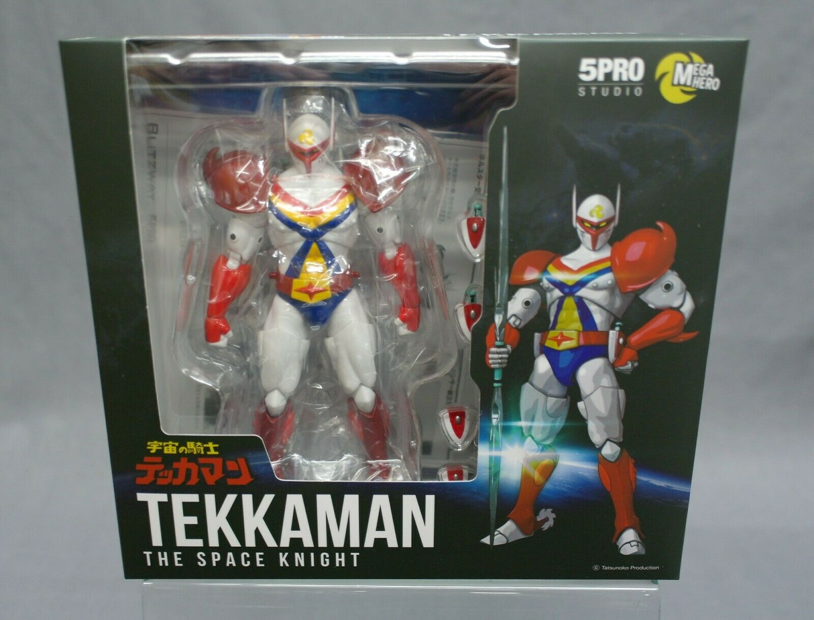 MEGA HERO Tekkauomo  The spazio Knight Tekkauomo 1 12 5PRO STUDIO Japan nuovo  garanzia di qualità