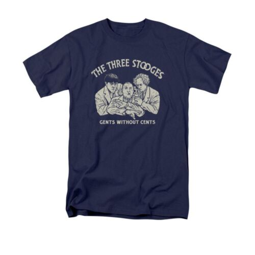 THREE STOOGES//WITHOUT CENTS T-Shirt Sizes S-3X NEW