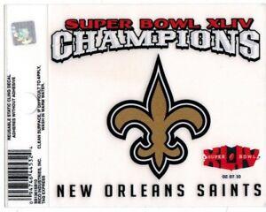 6f09122b Details about New Orleans Saints SUPER BOWL XLIV CHAMPIONS 3.5