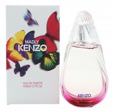 KENZO MADLY EAU DE TOILETTE 80ML SPRAY - WOMEN'S FOR HER. NEW. FREE SHIPPING
