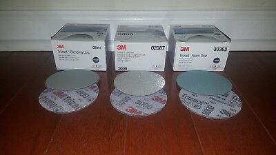 "3M Trizact Discs 3/"" 1000*3000*5000 grits.2 OF EACH. 6 TOTAL DISCS FREE SHIPPING"