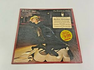 Barbra Streisand The Broadway Vinyl LP Record Album Columbia