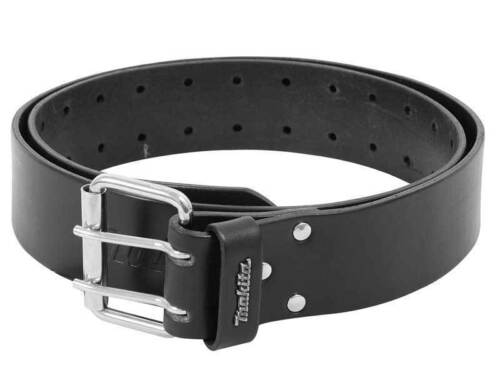 MAKITA Black Heavy Weight Leather Belt 1.38m P-71803  are
