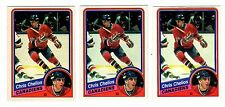 1X CHRIS CHELIOS 1984 85 OPC #259 Rookie RC NMMT lots available O Pee Chee